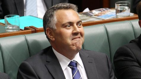Economic genius Joe Hockey