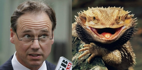 Greg Hunt's true form, perhaps?
