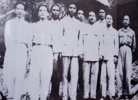 Members of the central committee of the Free Lao Front elected by the Congress.