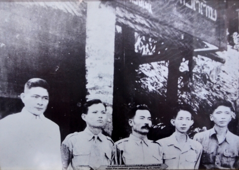 Members of the Lao Resistance Government elected by Congress.