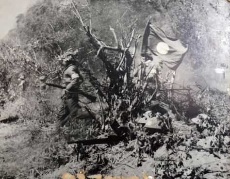 The Free Lao Army assaults enemies during the defense of two provinces.
