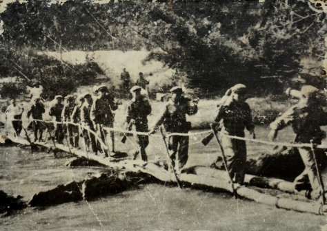 Lao liberation army moves to liberate luang namtha province on october 1961