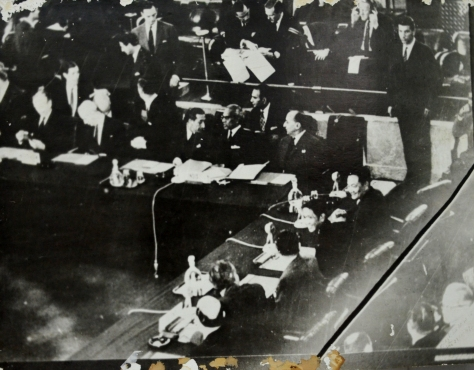 Geneva conference held on 23 july 1962 to acknowledge the independence of Laos.