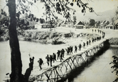 The army and the people of Luangpha Bang launch an attack on the enemy in MamBark on 12 January 1968