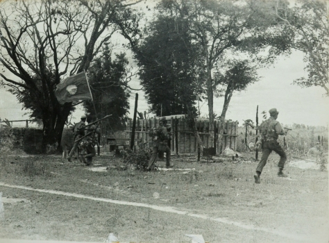 The liberation of Dong Hen by our army Savannakhet