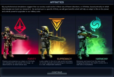 Beyond Earth's three Affinities