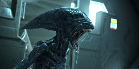 The 'Deacon Alien' from Ridley Scott's Prometheus