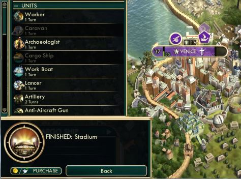 The omission of Civ 5's FINISHED popup is baffling